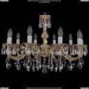 1702/10/A/GW Хрустальная подвесная люстра Bohemia Ivele Crystal (Богемия)