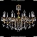 1702/10/B/GB Хрустальная подвесная люстра Bohemia Ivele Crystal (Богемия)