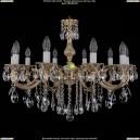 1702/10/B/GW Хрустальная подвесная люстра Bohemia Ivele Crystal (Богемия)