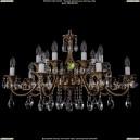 1703/14/A/FP Хрустальная подвесная люстра Bohemia Ivele Crystal (Богемия)