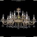 1703/14/A/GW/Balls Хрустальная подвесная люстра Bohemia Ivele Crystal (Богемия)