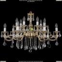 1703/14/B/GW/Leafs Хрустальная подвесная люстра Bohemia Ivele Crystal (Богемия)