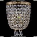 1927/2/S/G Хрустальное бра Bohemia Ivele Crystal (Богемия)