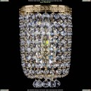 1928/1/S/G Хрустальное бра Bohemia Ivele Crystal (Богемия)