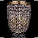 1928/2/S/G Хрустальное бра Bohemia Ivele Crystal (Богемия)