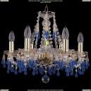 1410/6/160/G/3001 Хрустальная подвесная люстра Bohemia Ivele Crystal (Богемия)