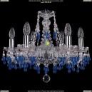 1410/6/160/Ni/3001 Хрустальная подвесная люстра Bohemia Ivele Crystal (Богемия)