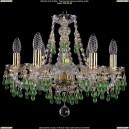 1410/6/160/G/5001 Хрустальная подвесная люстра Bohemia Ivele Crystal (Богемия)