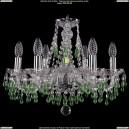 1410/6/160/Ni/V5001 Хрустальная подвесная люстра Bohemia Ivele Crystal (Богемия)