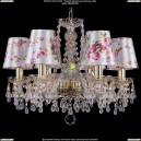 1410/6/160/G/V0300/SH28 Хрустальная подвесная люстра Bohemia Ivele Crystal (Богемия)