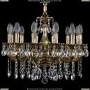 1701/12/181/A/GB Хрустальная подвесная люстра Bohemia Ivele Crystal (Богемия)