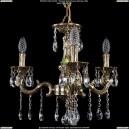 1701/3/181/A/GB Хрустальная подвесная люстра Bohemia Ivele Crystal (Богемия)