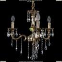 1701/3/181/B/GB Хрустальная подвесная люстра Bohemia Ivele Crystal (Богемия)