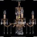 1701/4/181/A/FP Хрустальная подвесная люстра Bohemia Ivele Crystal (Богемия)