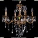 1701/4/181/B/FP Хрустальная подвесная люстра Bohemia Ivele Crystal (Богемия)