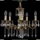 1701/5/181/A/GB Хрустальная подвесная люстра Bohemia Ivele Crystal (Богемия)