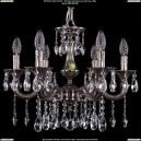 1701/6/181/A/NB Хрустальная подвесная люстра Bohemia Ivele Crystal (Богемия)