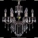 1701/6/181/B/NB Хрустальная подвесная люстра Bohemia Ivele Crystal (Богемия)