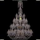 1406/24+12+12+6/530-230/G Люстра Большая Bohemia Ivele Crystal (Богемия)