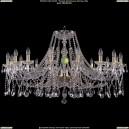 1413/16/400/G Большая хрустальная подвесная люстра Bohemia Ivele Crystal (Богемия)