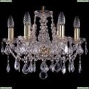1413/6/141/G/Leafs Хрустальная подвесная люстра Bohemia Ivele Crystal (Богемия)