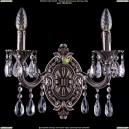 1700/2/A/NB Хрустальное бра Bohemia Ivele Crystal (Богемия)