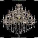 1722/12+6+6/335/B/GW Люстра Большая Bohemia Ivele Crystal (Богемия)