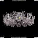 7708/12/Ni Хрустальная подвесная люстра Bohemia Ivele Crystal (Богемия)