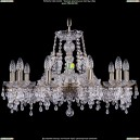 1410/10/240/Pa/V0300 Хрустальная подвесная люстра Bohemia Ivele Crystal (Богемия)