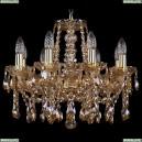 1413/8/165/G/M721 Хрустальная подвесная люстра Bohemia Ivele Crystal (Богемия)