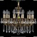 1701/12/A/GB Хрустальная подвесная люстра Bohemia Ivele Crystal (Богемия)