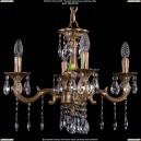 1701/4/A/FP Хрустальная подвесная люстра Bohemia Ivele Crystal (Богемия)