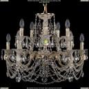 1702/5+5/265+110/C/GW Хрустальная подвесная люстра Bohemia Ivele Crystal (Богемия)