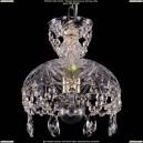 7711/22/1/G Хрустальная подвесная люстра (подвес) Bohemia Ivele Crystal (Богемия)