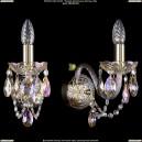 1400/1/G/BIG/M701 Хрустальное бра Bohemia Ivele Crystal (Богемия)