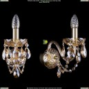 1400/1/G/BIG/M721 Хрустальное бра Bohemia Ivele Crystal (Богемия)