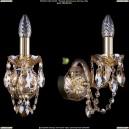 1400/1/G/M721 Хрустальное бра Bohemia Ivele Crystal (Богемия)