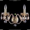 1400/2/G/BIG/M721 Хрустальное бра Bohemia Ivele Crystal (Богемия)