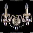 1400/2/G/M701 Хрустальное бра Bohemia Ivele Crystal (Богемия)