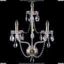 1400/3/180/G Хрустальное бра Bohemia Ivele Crystal (Богемия)