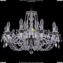 1606/10/240/NB Хрустальная подвесная люстра Bohemia Ivele Crystal (Богемия)