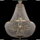 2150/100/G Хрустальная люстра большая Bohemia Ivele Crystal (Богемия)