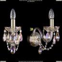 1400/1/160/G/M701 Хрустальное бра Bohemia Ivele Crystal (Богемия)