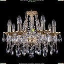 1613/8/165/G Хрустальная подвесная люстра Bohemia Ivele Crystal (Богемия)