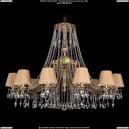 1771/12/410/A/FP/SH37 Хрустальная подвесная люстра Bohemia Ivele Crystal (Богемия)