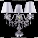5703/3/141-39/Ni/SH21 Хрустальная настольная лампа  Bohemia Ivele Crystal (Богемия)