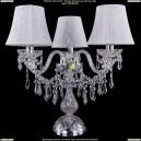 5703/3/141-39/Ni/SH41 Хрустальная настольная лампа  Bohemia Ivele Crystal (Богемия)