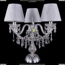 5703/3/141-39/Ni/SH6 Хрустальная настольная лампа  Bohemia Ivele Crystal (Богемия)