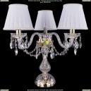 5706/3/141-39/G/SH13A Хрустальная настольная лампа  Bohemia Ivele Crystal (Богемия)