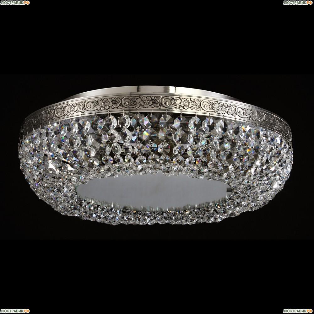 MIR543-45AY-N Хрустальная потолочная люстра с отражателем Maytoni LUNA